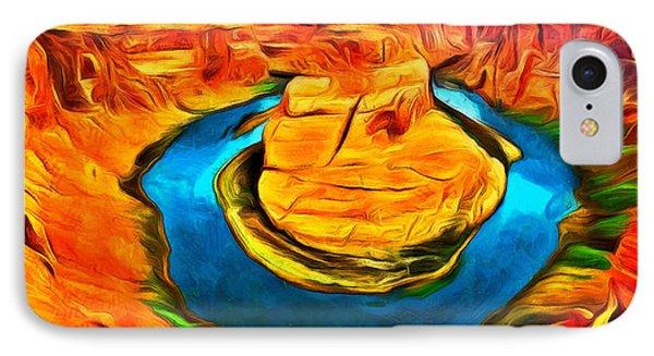 Canyon - Da IPhone Case by Leonardo Digenio
