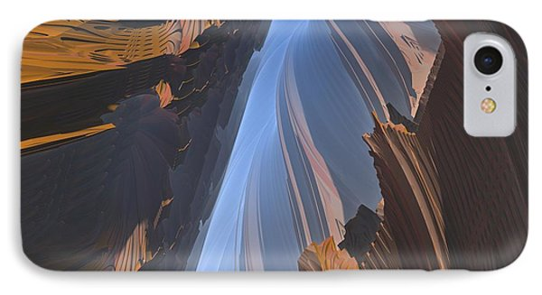 IPhone Case featuring the digital art Canyon by Lyle Hatch