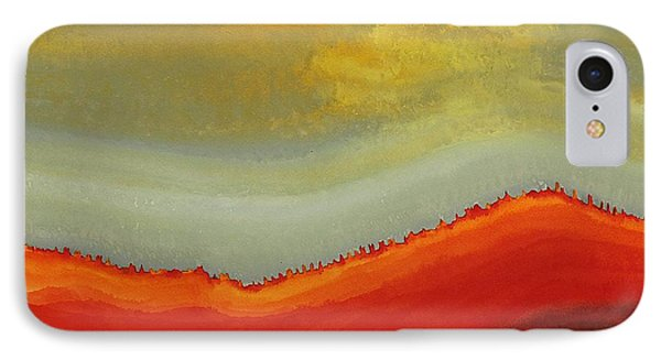 Canyon Outlandish Original Painting IPhone Case by Sol Luckman