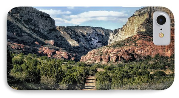 Canyon Road IPhone Case by Jim Hill