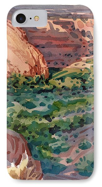 Canyon Shadows IPhone Case by Donald Maier