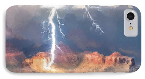 Canyon Storm IPhone Case