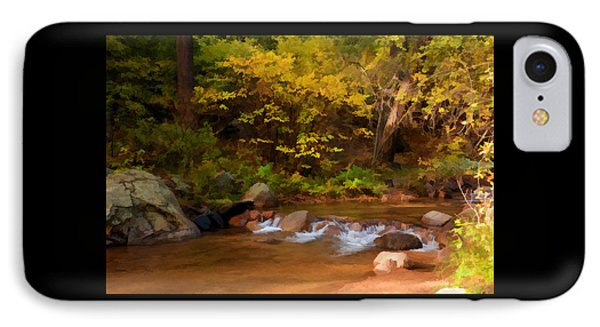 IPhone Case featuring the photograph Canyon Stream In Autumn by Diane Alexander