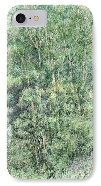 Canyon Trees Colorized IPhone Case