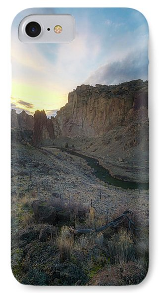Canyon's Falling Daylight IPhone Case
