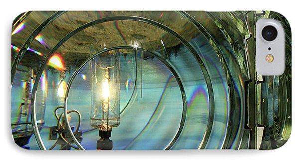 Cape Blanco Lighthouse Lens Phone Case by James Eddy