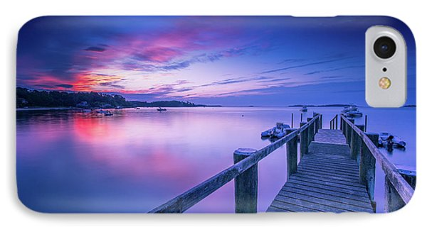 Cape Cod Art Sunrise On Pleasant Bay In July IPhone Case