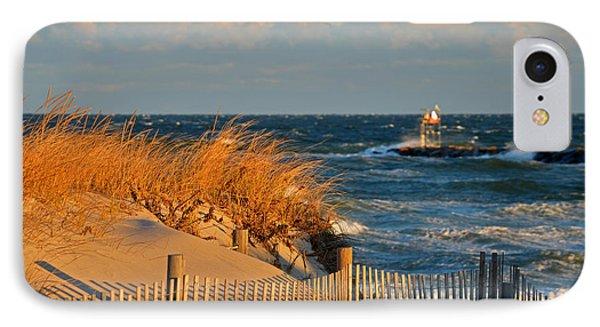 Cape Cod Bay - Dunes In Winter IPhone Case