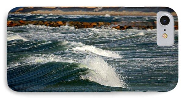Cape Cod Bay In November IPhone Case by Dianne Cowen