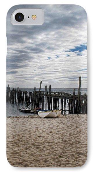 Cape Cod Bay Phone Case by Joan  Minchak
