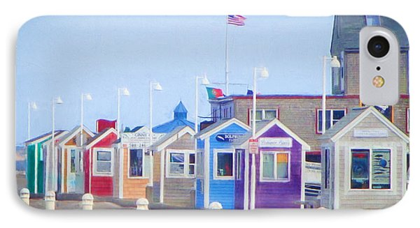 Cape Cod Cabins IPhone Case