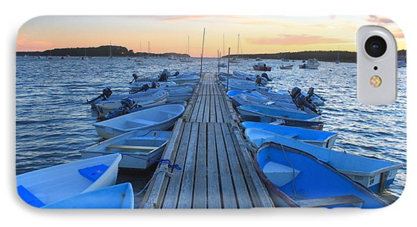 Cape Cod Harbor Boats IPhone Case