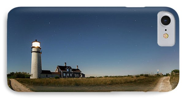 Cape Cod Light Starry Night IPhone Case by Bill Wakeley