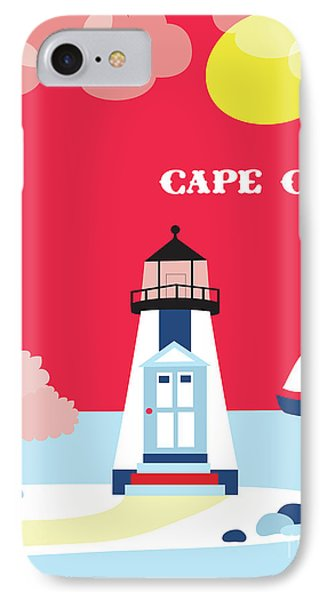 Cape Cod Massachusetts Vertical Scene IPhone Case by Karen Young