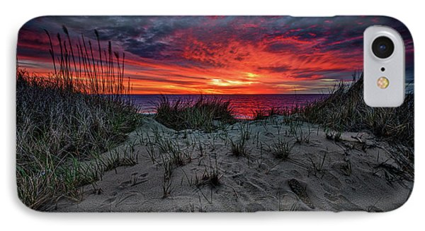 Cape Cod Sunrise IPhone Case by Rick Berk