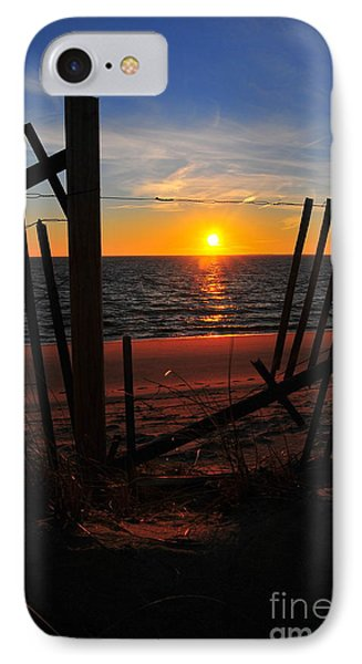 Cape Cod Sunset Phone Case by Catherine Reusch Daley