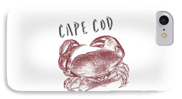 Cape Cod Tee IPhone Case by Edward Fielding