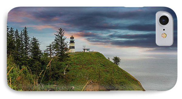 Cape Disappointment After Sunset Phone Case by David Gn
