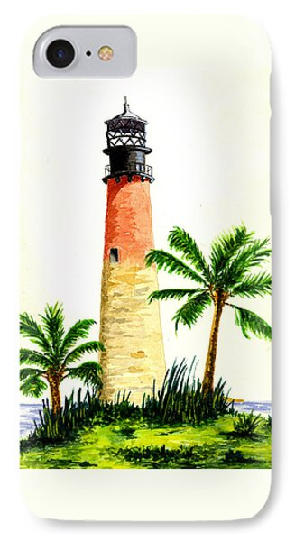 Cape Florida Lighthouse Phone Case by Michael Vigliotti