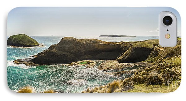 Cape Grim Cliff Panoramic IPhone Case by Jorgo Photography - Wall Art Gallery
