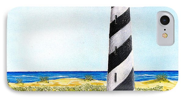 Cape Hatteras Lighthouse IPhone Case by Chad Brittain
