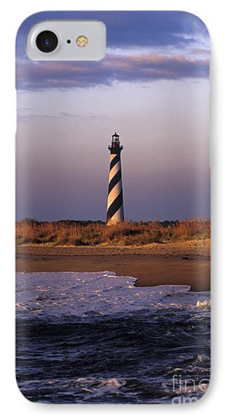 Cape Hatteras Lighthouse At Sunrise - Fs000606 IPhone Case by Daniel Dempster
