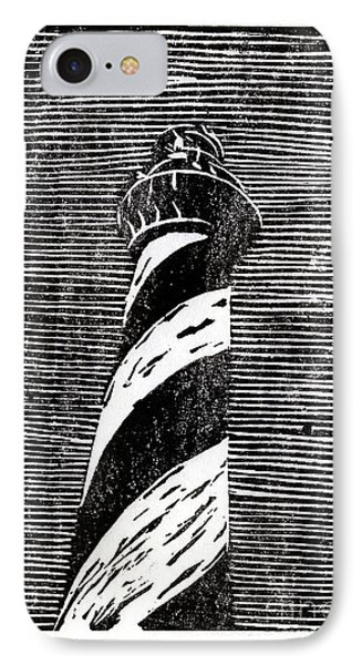 IPhone Case featuring the painting Cape Hatteras Lighthouse II by Ryan Fox
