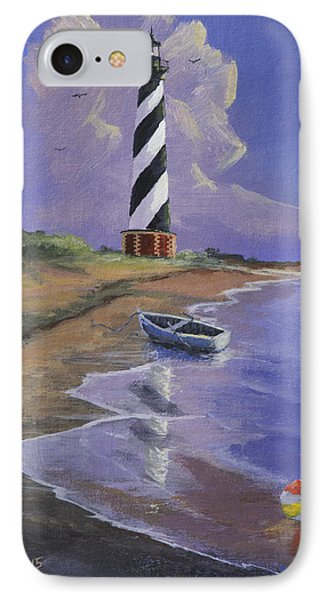 Cape Hatteras Lighthouse Phone Case by Jerry McElroy