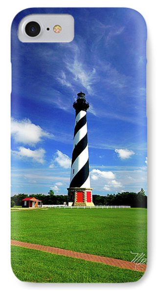 IPhone Case featuring the photograph Cape Hatteras Lighthouse by Meta Gatschenberger