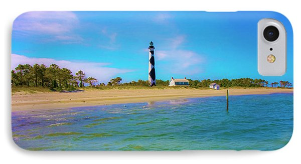 Cape Lookout 1 IPhone Case by Betsy Knapp