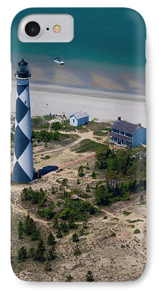 Cape Lookout 4 IPhone Case by Betsy Knapp