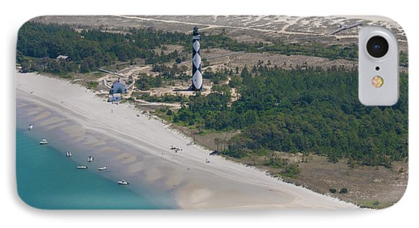 Cape Lookout 6 IPhone Case by Betsy Knapp