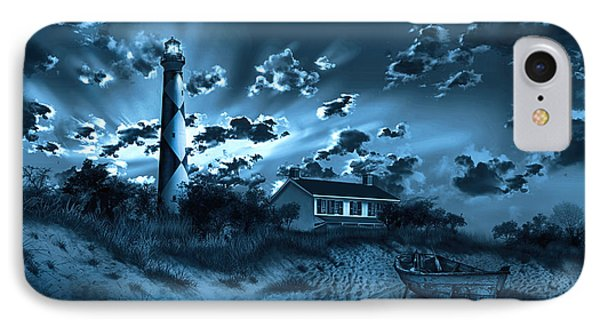 Cape Lookout Lighthouse 3 IPhone Case