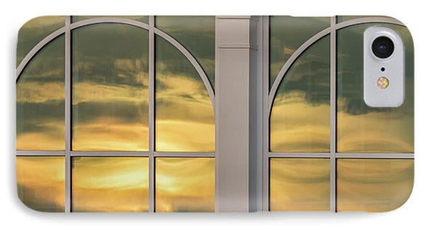 Cape May Abstract Sunset Reflection IPhone Case by Gary Slawsky