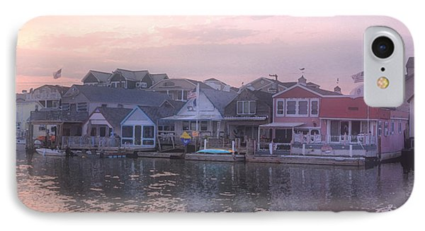 Cape May Harbor IPhone Case