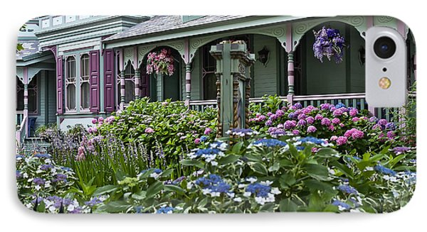 Cape May House And Garden. Phone Case by John Greim