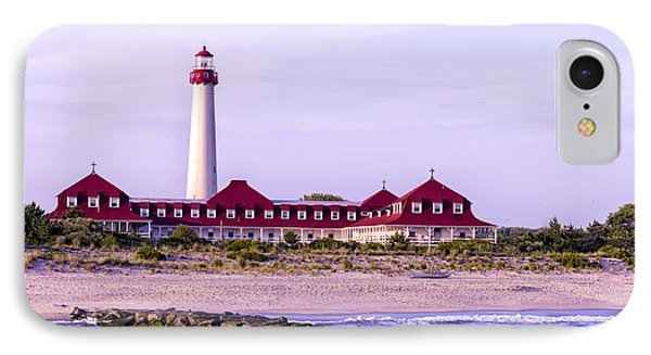 IPhone Case featuring the photograph Cape May Light House by Linda Constant