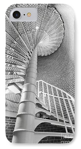 Cape May Lighthouse Stairs IPhone Case by Dustin K Ryan