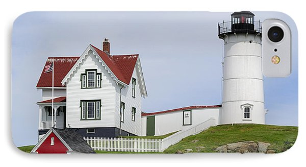 Cape Neddick Light IPhone Case by Luke Moore