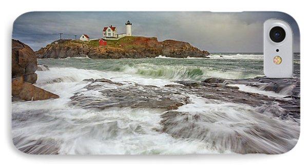 Cape Neddick Storm IPhone Case