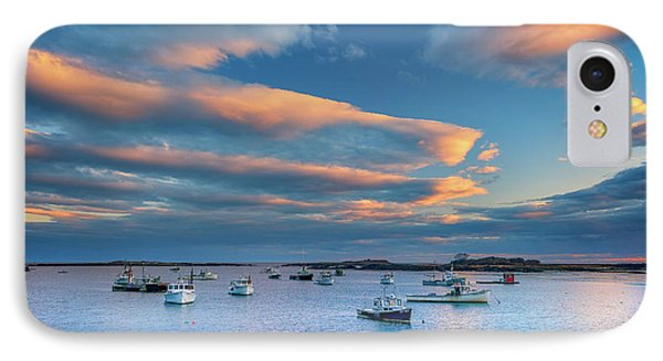 Cape Porpoise Harbor At Sunset IPhone Case