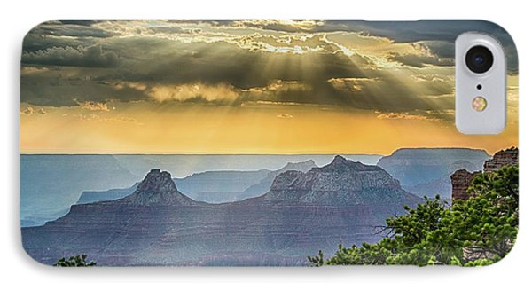 Cape Royal Crepuscular Rays IPhone Case