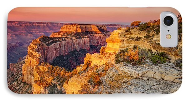 Cape Royal Sunrise Grand Canyon IPhone Case by Scott McGuire