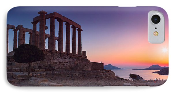 Cape Sounion IPhone Case by Emmanuel Panagiotakis