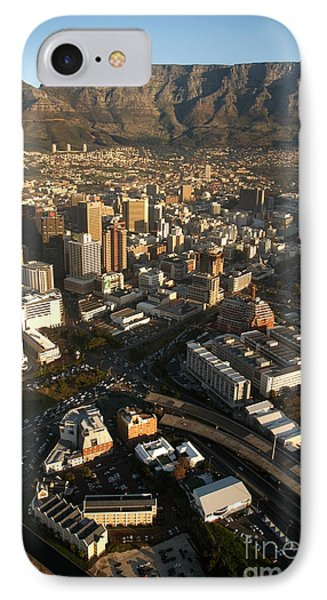 Cape Town From The Air Phone Case by Andy Smy