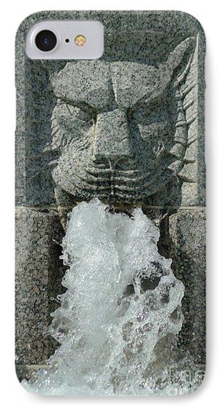 Senate Fountain Lion IPhone Case