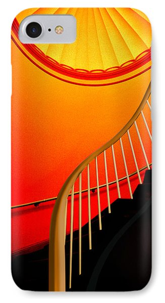 Capital Stairs IPhone Case by Paul Wear