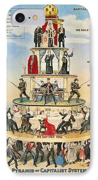 Capitalist Pyramid, 1911 Phone Case by Granger