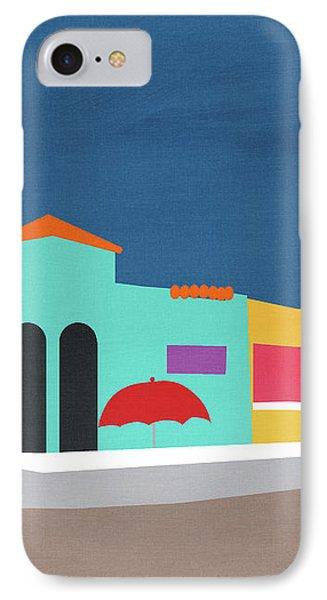 Capitola Venetian- Art By Linda Woods IPhone Case by Linda Woods