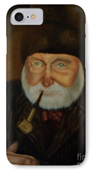 IPhone Case featuring the painting Cap'n Danny by Marlene Book